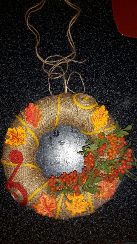 Podzimni pytlovina slane testo