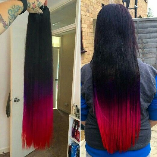 42 best dip dye hair extensions ombre hair images on pinterest this is one of our favorite look created using cliphair extensions order your dip dye extensions pmusecretfo Images