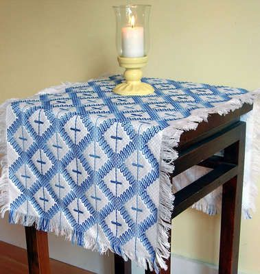 swedish weaving | Christmas Trees - swedish weaving pattern by Swedish Weave Designs