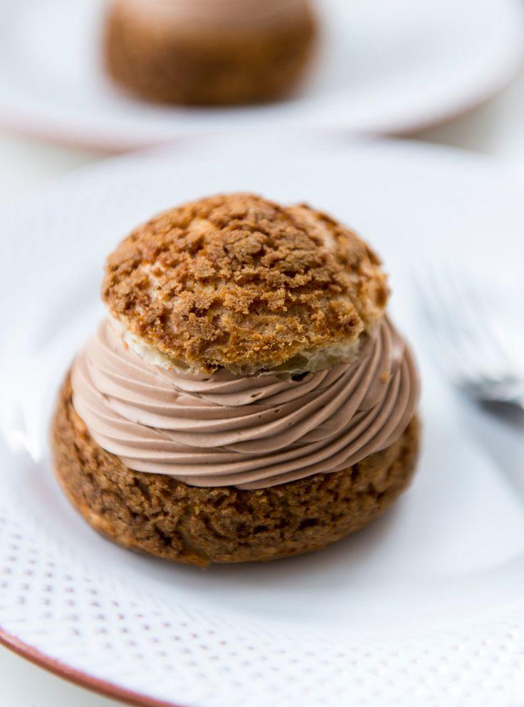 Recette de Patrice Demers de choux au chocolat et café St-Henri