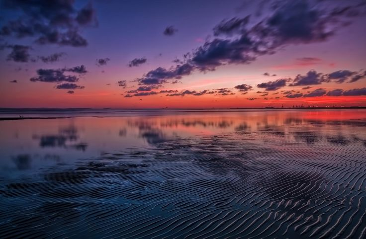 Clouds in the water by Geoff Sporne on 500px
