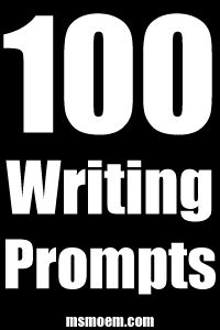 100 writing prompts #inspiration