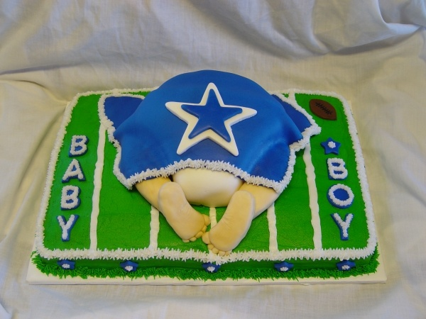 dallas cowboy cakes on pinterest birthday cakes dallas cowboys baby