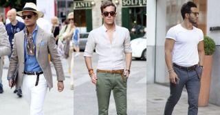 """無地のTシャツ1枚、白シャツ1枚などシンプルな装いの増える夏。着こなしにアクセントを加えてくれるアイテムは様々ありますが、首元へのバンダナ使いも有力なテクニック。今回は""""首元へのバンダナ使い""""をテーマに注目の着こなし&巻き方&アイテムを紹介していきます! バンダナ×白Tシャツ×スラックススタイル シンプルなクルーネックTシャツに鮮やかなブルーベースのペイズリー柄バンダナをあわせた着こなし。アクセサリーにもブルーを取り入れることでこなれ感。 chadsdrygoods バンダナ×ヘンリーネックTシャツ ペールトーンのブルーTシャツに深いレッドが差し色として映えるスタイリング。 garconjon バンダナ×ジャケットスタイル すべてのアイテムをブルー/ネイビー系で統一して、ハズしすぎることなくシャープな印象をキープ。 lux.fm バンダナ×オフホワイトTシャツ 生成り風のTシャツに同系色オフホワイトベースのバンダナをあわせたスタイリング。 gqstyle バンダナ垂らし巻き×サファリシャツ 胸元ラインに添わせるようにバンダナを垂らし巻..."""