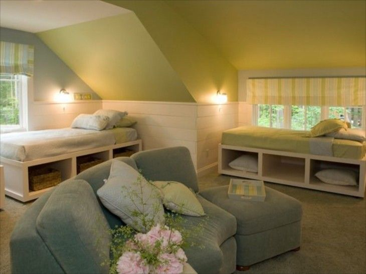 Attic - definition: a space or room just below the roof of a building.When we think of cozy spaces, an attic bedroom often comes to mind. They can be simple, like you often find at lakeside cabins,...