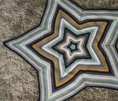 Couverture étoile en crochet <3 <3 <3
