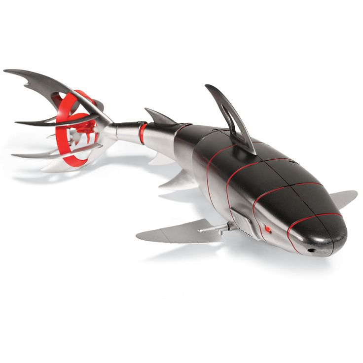 The Remote Controlled Robotic Bull Shark - Hammacher Schlemmer.