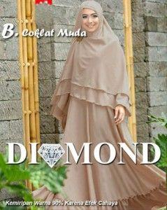 trend berbusana muslim dengan jilbab panjang saat ini lagi booming , banyak gamis syari dengan berbagai motif seperti motif bunga , motif mozaik , motif abstrak dan motif polos dengan aneka bahan . Gamis Syar'i Diamond merupakan baju gamis syar'i motif polos yang dipadukan dengan bergo panjang berbahan spandek korea . - See more at: http://tokogamiswanita.com/gamis-polos-cantik-diamond/#sthash.hLUD9v2I.dpuf