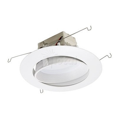5  or 6  dimmable adjustable LED recessed lighting retrofit white baffle eyeball trim  sc 1 st  Pinterest & 42 best Going Green With Recessed Lighting images on Pinterest ... azcodes.com