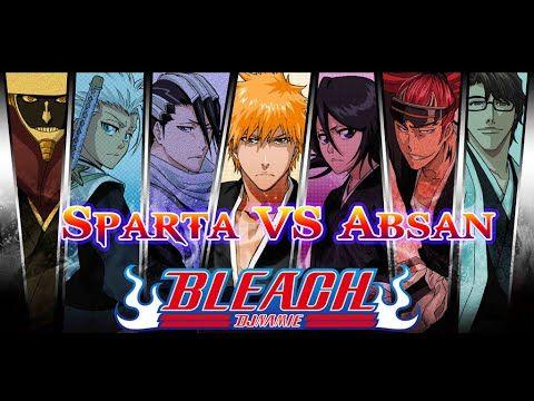 Bleach Game - Sparta vs Absan - Browser Online Game