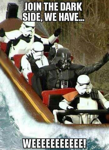 it's fun on the dark side... and i hear they have cookies!