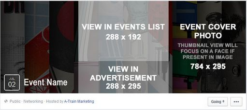 Facebook event image size