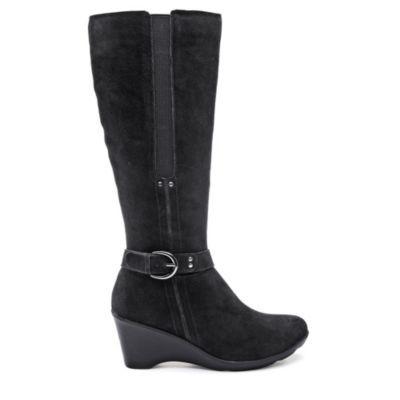 Henri Pierre® 'Babette' Women's Waterproof Suede Boot - Sears | Sears Canada #SearsWishlistWonderland Contest