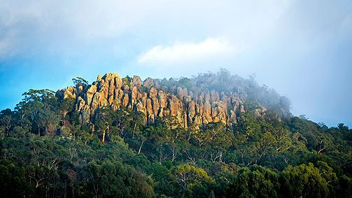 Hanging Rock, Daylesford and Macedon Ranges, Victoria, Australia