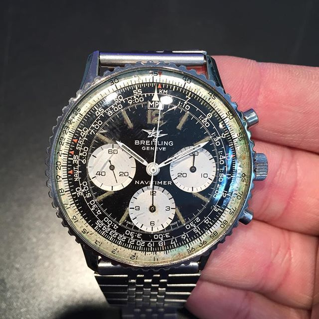 breitling aviator watch prices w1d7  A Breitling Navitimer Ref 806 from 1970 in original condition #
