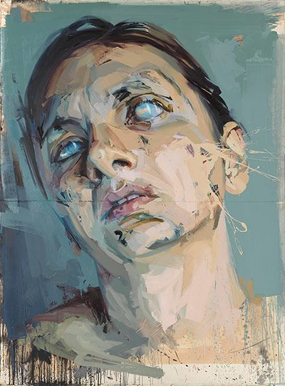 Credit: (c) 2012 Jenny Saville, image courtesy Gagosian Gallery  Atonement Studies: Central Panel (Rosetta), 2005-06