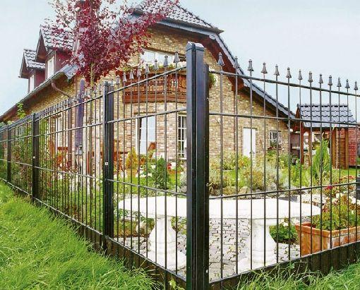 Gardenplaza - Metallzäune schützen Haus und Hof sowohl nach außen als auch nach innen - Sicher fühlen leicht gemacht