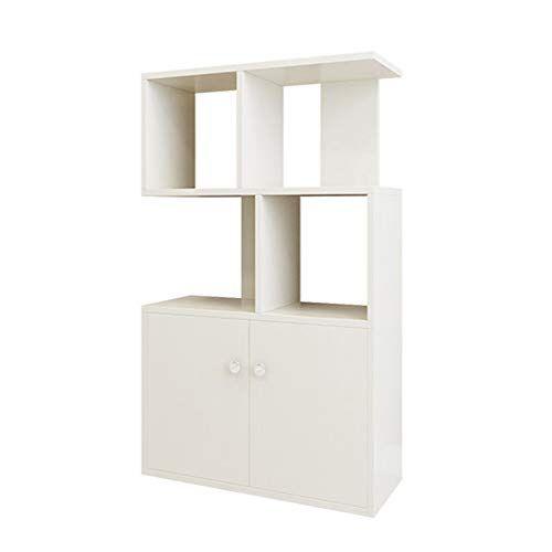 Nn Bookcase Modern Minimalist Bookcase Wooden Children S Bookshelf Locker Multi Layer Display Creative Flooring White Bookcase Standing Bookshelf