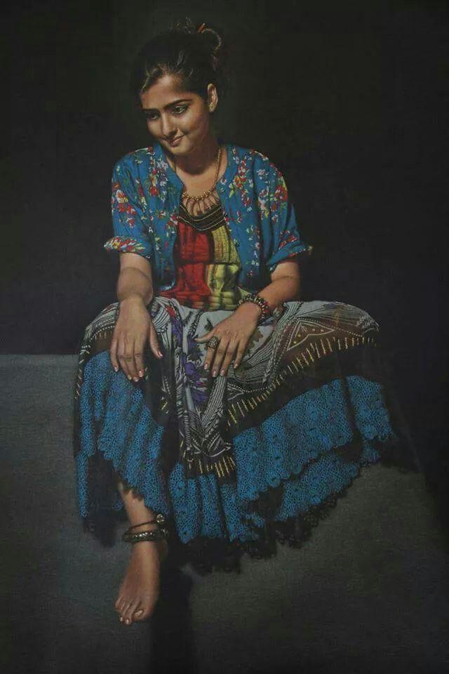 Awsom painting by shashikant dhotre solapur maharashtra india