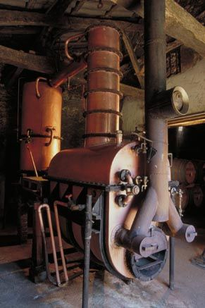 The alambic at Château de Bordeneuve read about it here http://www.pipehillhouse.co.uk/2012/11/12/winter-warmers/