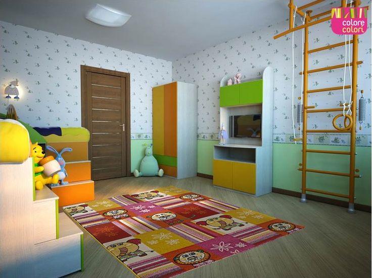Τα καλύτερα παιχνίδια γίνονται πάνω σε ένα #χαλί  #DiamondKids των #ColoreColori 🐵 #playroom #kidsroom Ανακαλύψτε την νέα συλλογή, εδώ ► http://bit.ly/2eih4C8