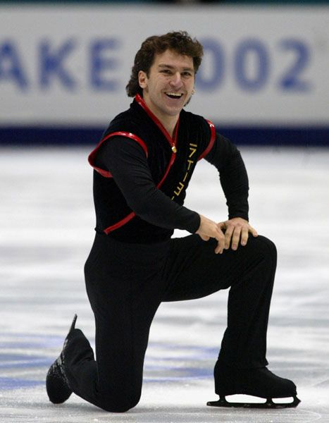 Canadian Figure Skater Elvis Stojko - Several World titles and two Olympic Silver medals. Very inspiring.
