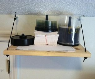 Quick and Easy DIY Shelf55 best DVD Cabinet and Storage images on Pinterest   Cabinet  . Easy Diy Dvd Shelf. Home Design Ideas
