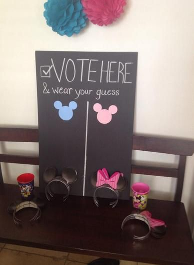 Disney Gender Party