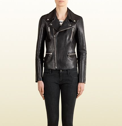 gucci jacket womens. gucci a/w14 - leather jacket made with tiger print silk twill lining. zippered womens