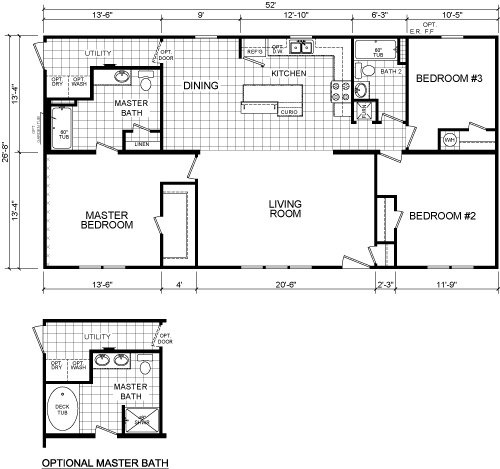 Deer Valley Mobile Home Floor Plans: 32 Best Images About Manufactured Homes On Pinterest