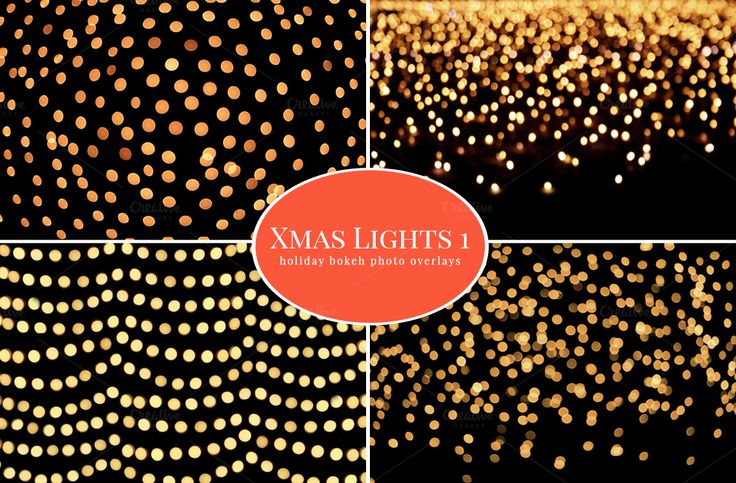Christmas Lights - photo overlays - photoshop - portrait ...