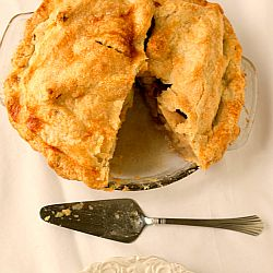 Classic Apple Pie - This recipe calls for Granny Smith and McIntosh apples, but the beauty of apples and fall is that you can substitute in your favorite varieties, or head to the local orchard and pick whatever they have growing there. I would recommend mixing and matching the tart and not-so-tart varieties to give the filling a good balance, but other than that, go for your favorites!