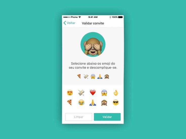Emoji Validation - UI Movement