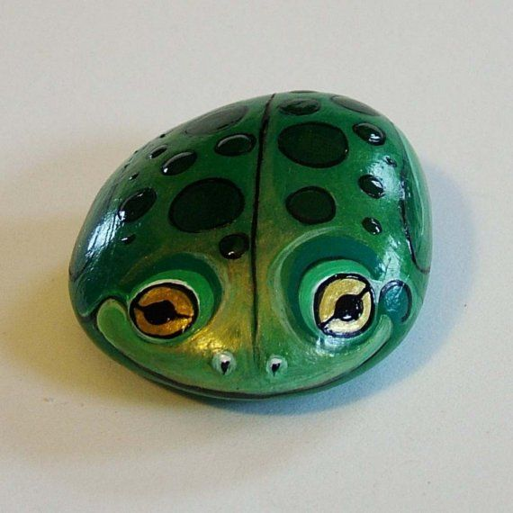 Frog - Painted Rock Critter