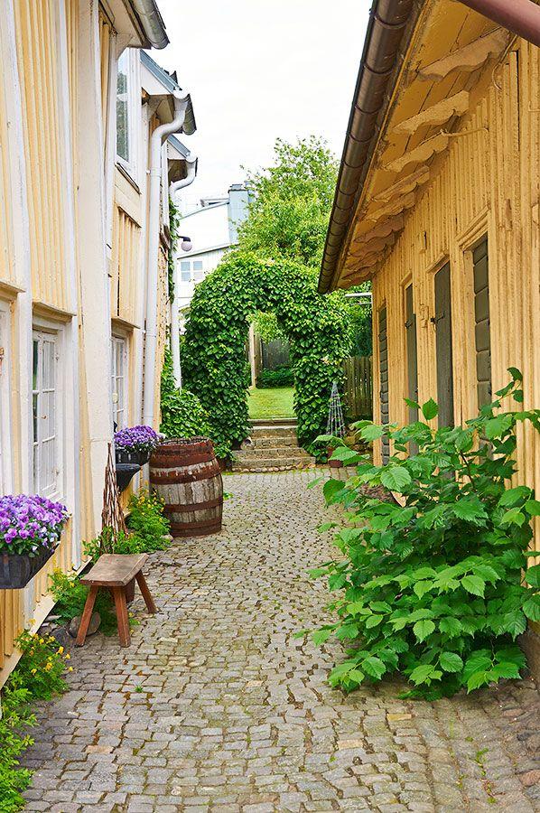 Bildresultat för innergård karlshamn