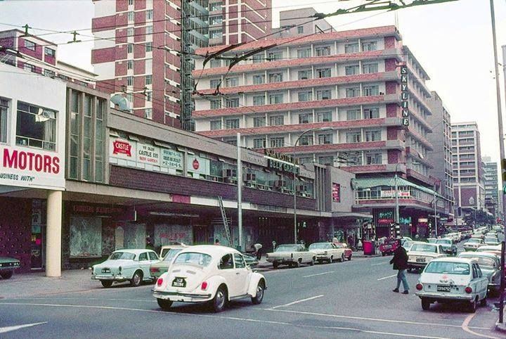 Pretoria Street facing east after Edith Cavell Street.