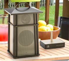 Wireless Outdoor Speaker!
