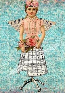 imagenes gratuitas: Music, Vintage People, Flower Girls, Free Printables, Wild Hearts