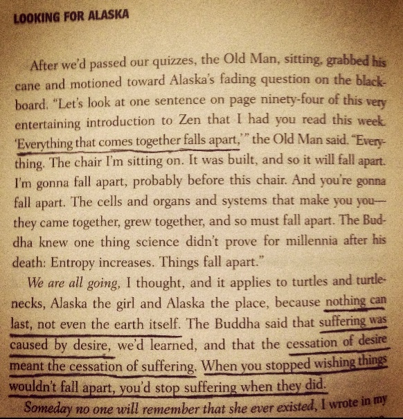 Looking For Alaska<3