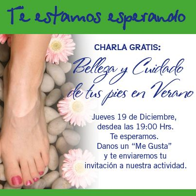 Charla Gratuita #podolovial #podología #podólogo