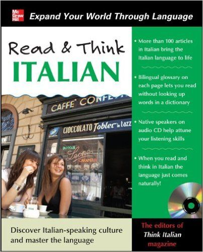 Read and Think Italian with Audio CD (Read & Think): Amazon.co.uk: Editors Of Think Italian! Magazine: 9780071763653: Books