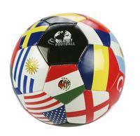 Foto: Voetbal leer maat 5 Landen
