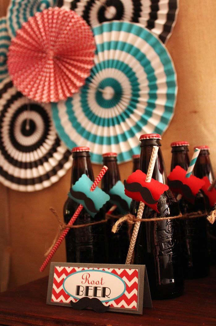 Refrescos retro para una fiesta años 50 / Retro refreshments for a 1950s party