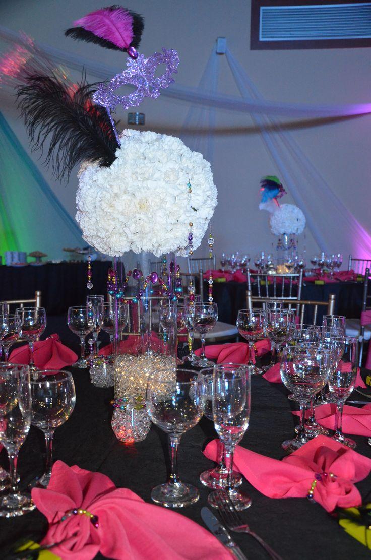 Centro de mesa esfera de flores naturales con collares - Decoracion de jarrones con flores artificiales ...