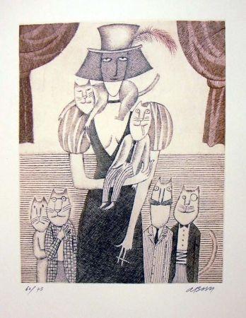 Dobře vychovaní kocouři, 2003 (Well behaved cats) by Adolf Born