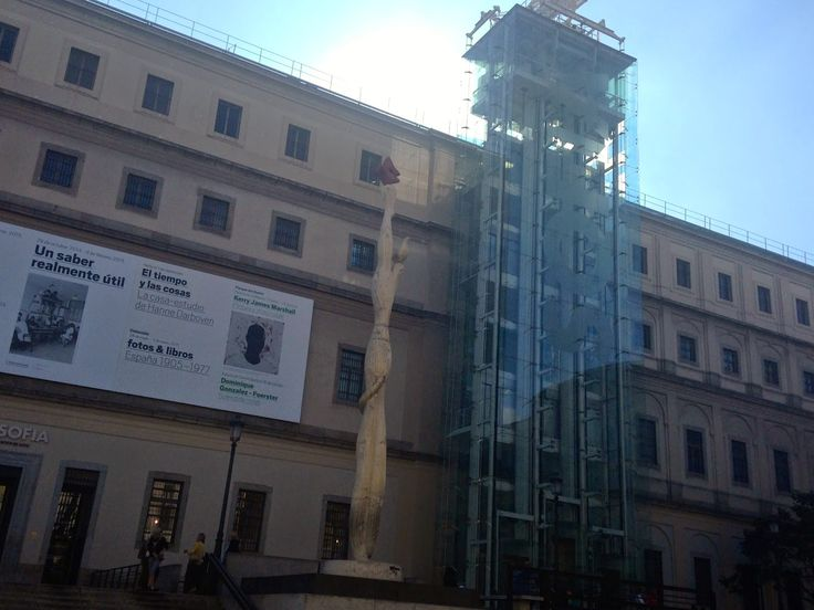 STŘÍPKY Z KULTURY I NEKULTURY: MUSEO NACIONAL CENTRO DE ARTE REINA SOFÍA