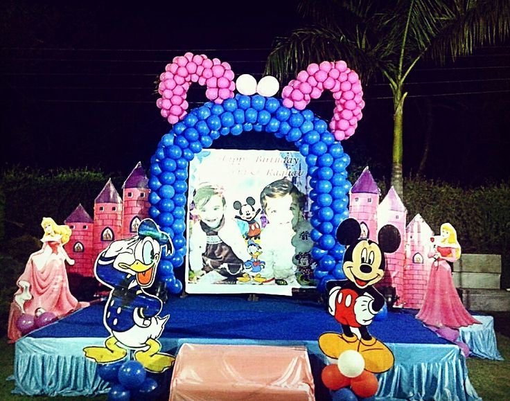 #birthdayparty#birthdaydecor#lucknow#india#disneylandthemed