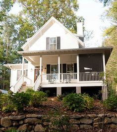 Sugarberry Cottage House Plan By Southern Living Use Only Phantom Screens  So Side Porch Can Be