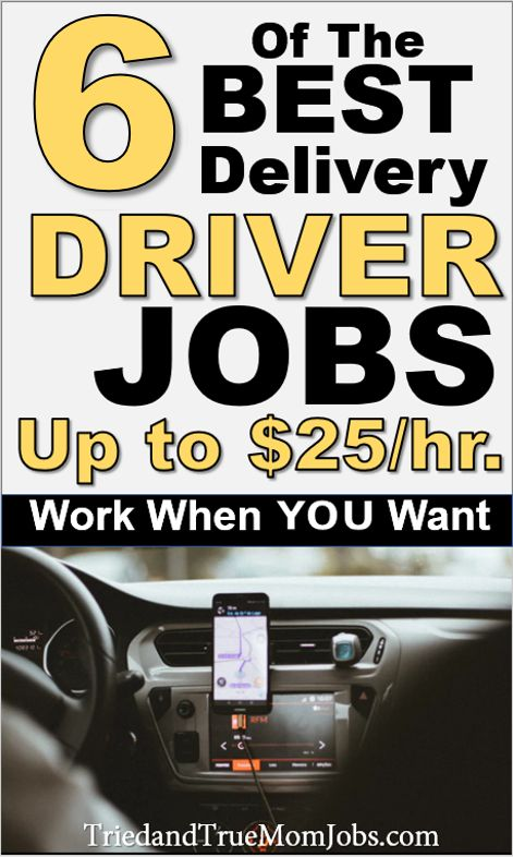 6 Of The Best Delivery Driver Jobs Near Me Hiring Now In