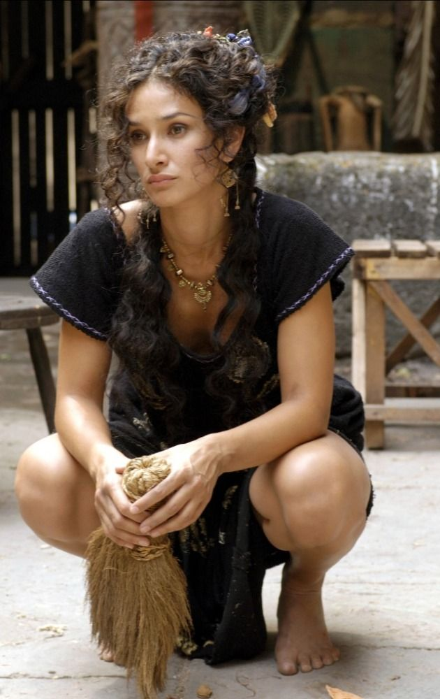 Indira Varma best known for her roles in Luther and in Torchwood.